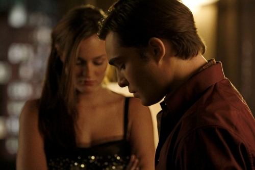 Nate [talking about Chuck and Blair] : 'Yeah, well if they're happy guess I'm happy...'