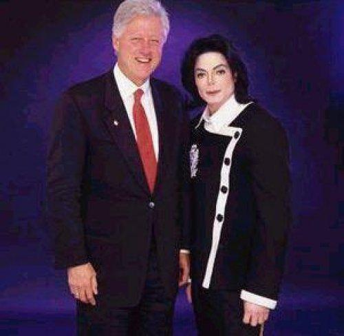 Michael endorsed good friend, Bill Clinton, for the 1992 Democratic Presidential election