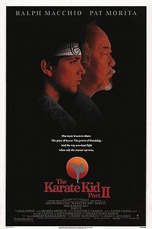 How long does The Karate Kid II last?