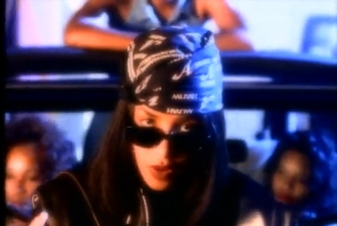 From which Aaliyah's video clip this photo come from?