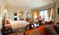 This is the master bedroom of Michael's final place of residence on Carolwood Drive