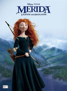 Who is the voice actress for Merida?