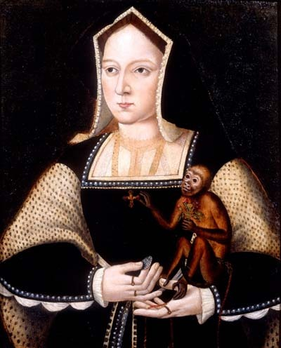What was the cause of Catherine and Henry's rejoicing in February 1516?