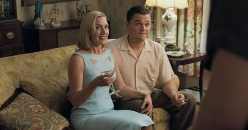 Kate Winslet and Leonardo DiCaprio in...