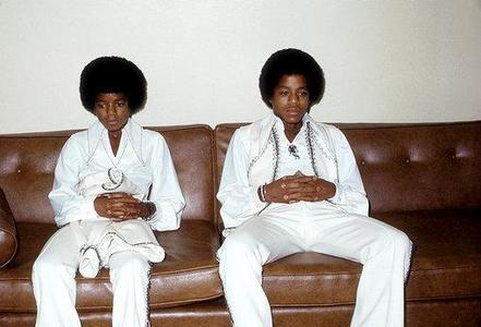 Who is this sibling in the photograph with Michael Jackson