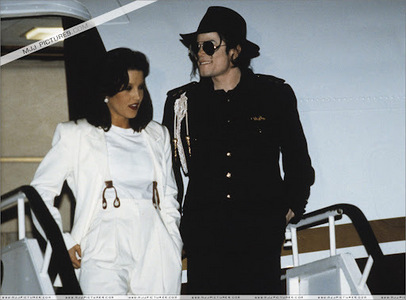 "Michael dedicated the ""History"" album to first wife, Lisa Marie Presley, back in 1995"
