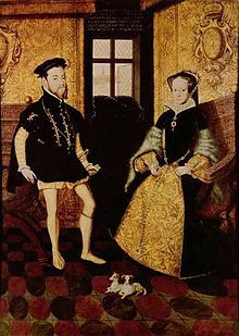When did Mary marry Philip of Spain?