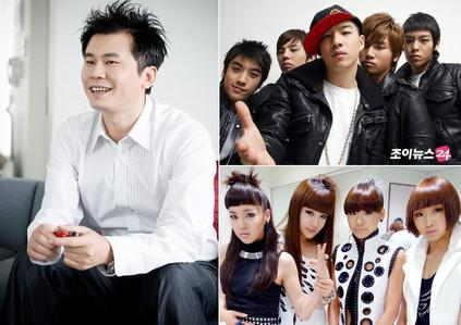 YANG HYUN SUK ADMIT HE IS VERY STRICT AND ONLY HANG OUT DRINK WITH BIG BANG ONCE o TWICE WITH BIG BANG IN