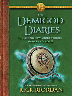 What did Percy forget in the Demigod Diaries?