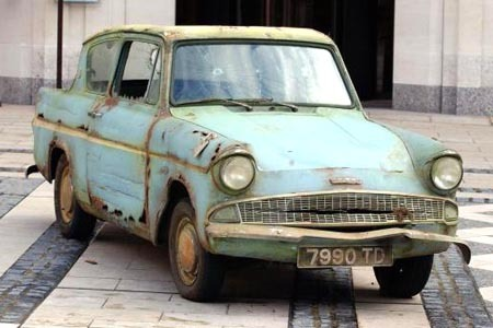 The Ford Anglia is based off of...