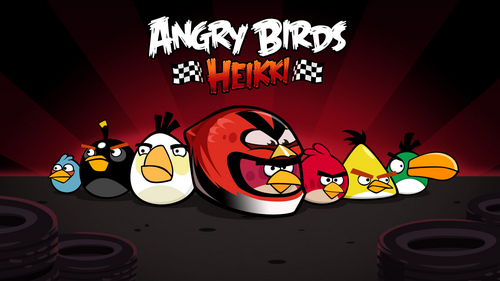 Before Angry Birds Heikki Game, What IS The Previous Angry Birds Game In The Race Track?