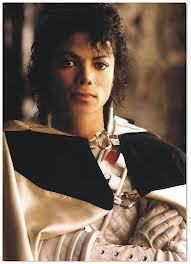 "Michael portrayed a মহাকাশ commander in the 1986 3-D ডিজনি classic, ""Captain Eo"""