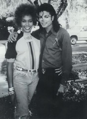"Whitney was Michael's prospective duet partner for his 1987 #1 hit song ""Just Can't Stop Loving You"""