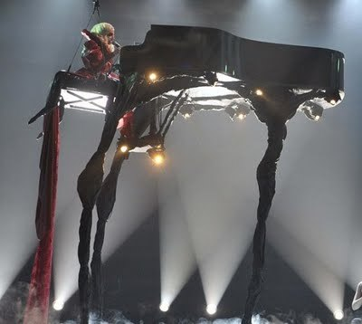 This piano was inspired by whom?