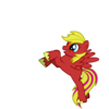 My first version of my pony, Leaping Beat Sandfire_Paiger photo