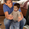 Prison Break - Michael Scofield and his little son MJ Kate-Jane photo
