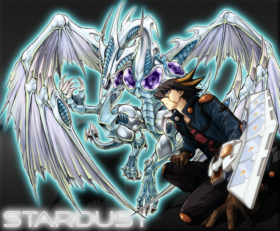 Yugioh 5ds Stardust Dragon Yugioh 5ds Yusei And S...