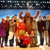 Glee Cast with Damian McGinty trishmcginty photo