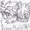 """I support Techno Moth!"" <3 Evolia-Wulf photo"