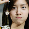YoonA so cute when she aegyoing <3 YoongieForever photo