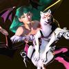 Morrigan and Amaterasu (in MvC3) crystalcat15 photo