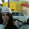 ages ago lol but look at my funny hat i hope that drink was yum i can
