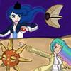 Luna and Celestia as Pokemon Trainers! Tawnyjay photo