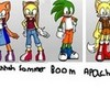 here is my first group of sommer&friends including Sommer, Hannah, Alice, Boom, Apachi and Darkness! fansommer photo