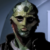 My virtual love, Thane Krios. Why doesn