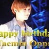 Happy birthday <3 Lee Taemin <3 TaeQuteeee photo