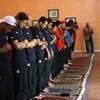 Olympic competitors praying   ninjasrawesome photo