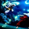 Sesshomaru and Inuyasha fight sesshyswind photo
