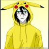 Ulquiorra in a Pikachu onesie Ryuuikari photo
