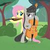 Octavia and Fluttershy! <3 Tawnyjay photo