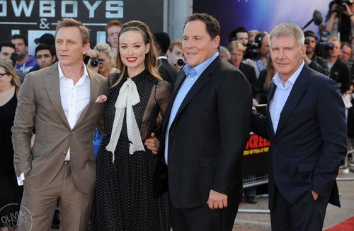 'Cowboys and Aliens' London Premiere [August 11, 2011]