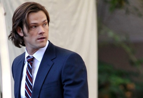 'Supernatural' Stars on Set