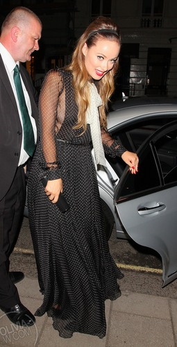 Arrives back at the Claridges [August 11, 2011]