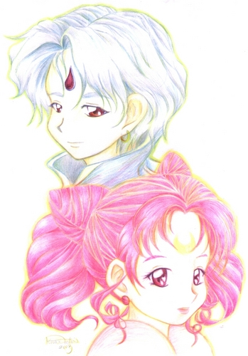 Helios and Chibiusa