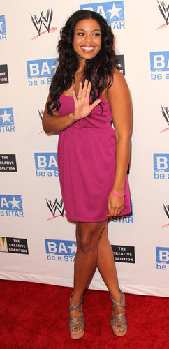 "Jordin Sparks: WWE & and The Creative Coalition's ""be a STAR"" SummerSlam Kickoff Party - Arrivals"