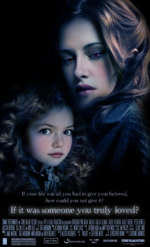 Mackenzie in Breaking Dawn poster