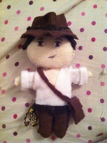 Plushie Indiana Jones