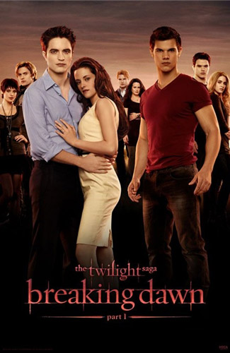 Breaking Dawn NEW Poster With All The Main Characters!