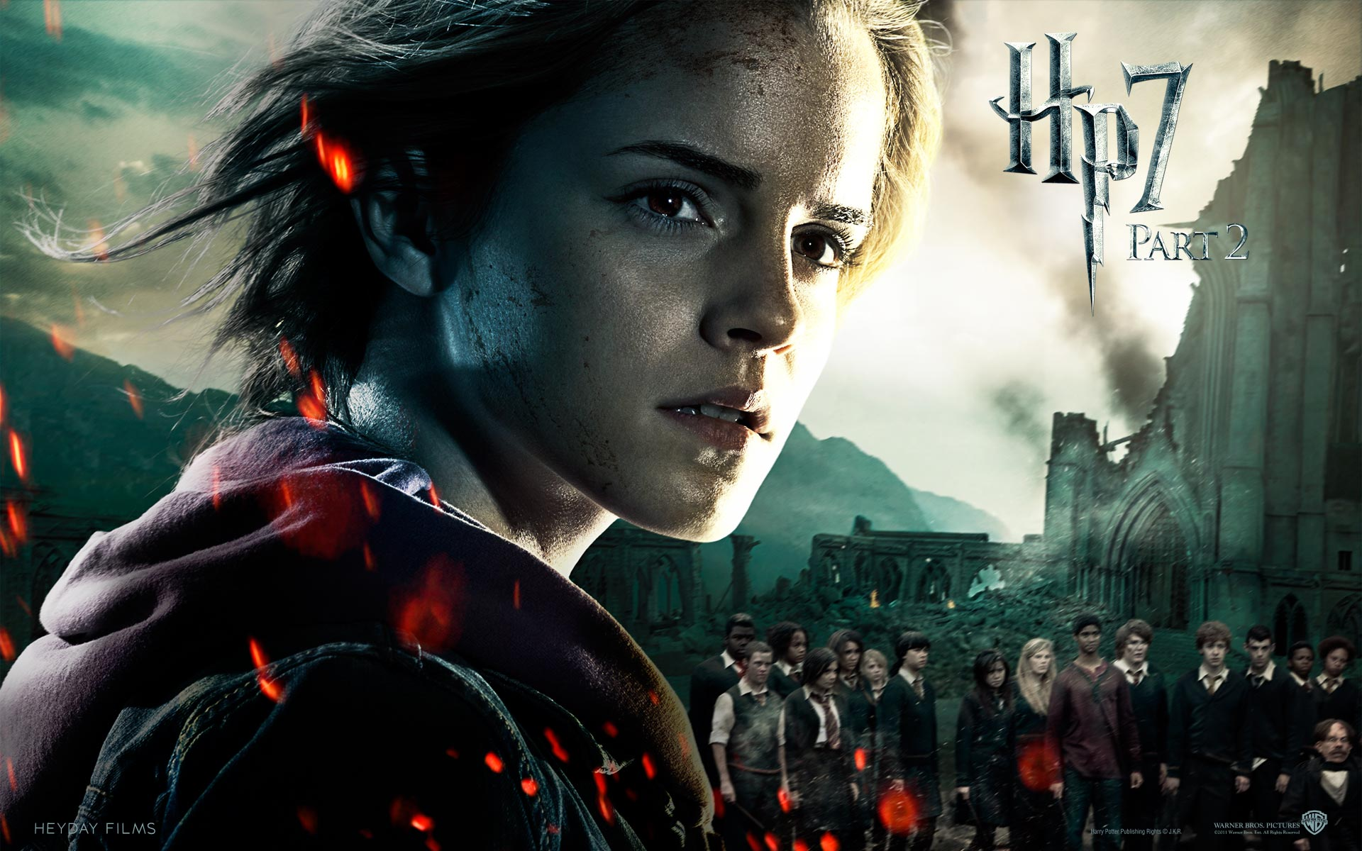 Deathly Hallows Part Ii Official Wallpapers Harry Potter And The