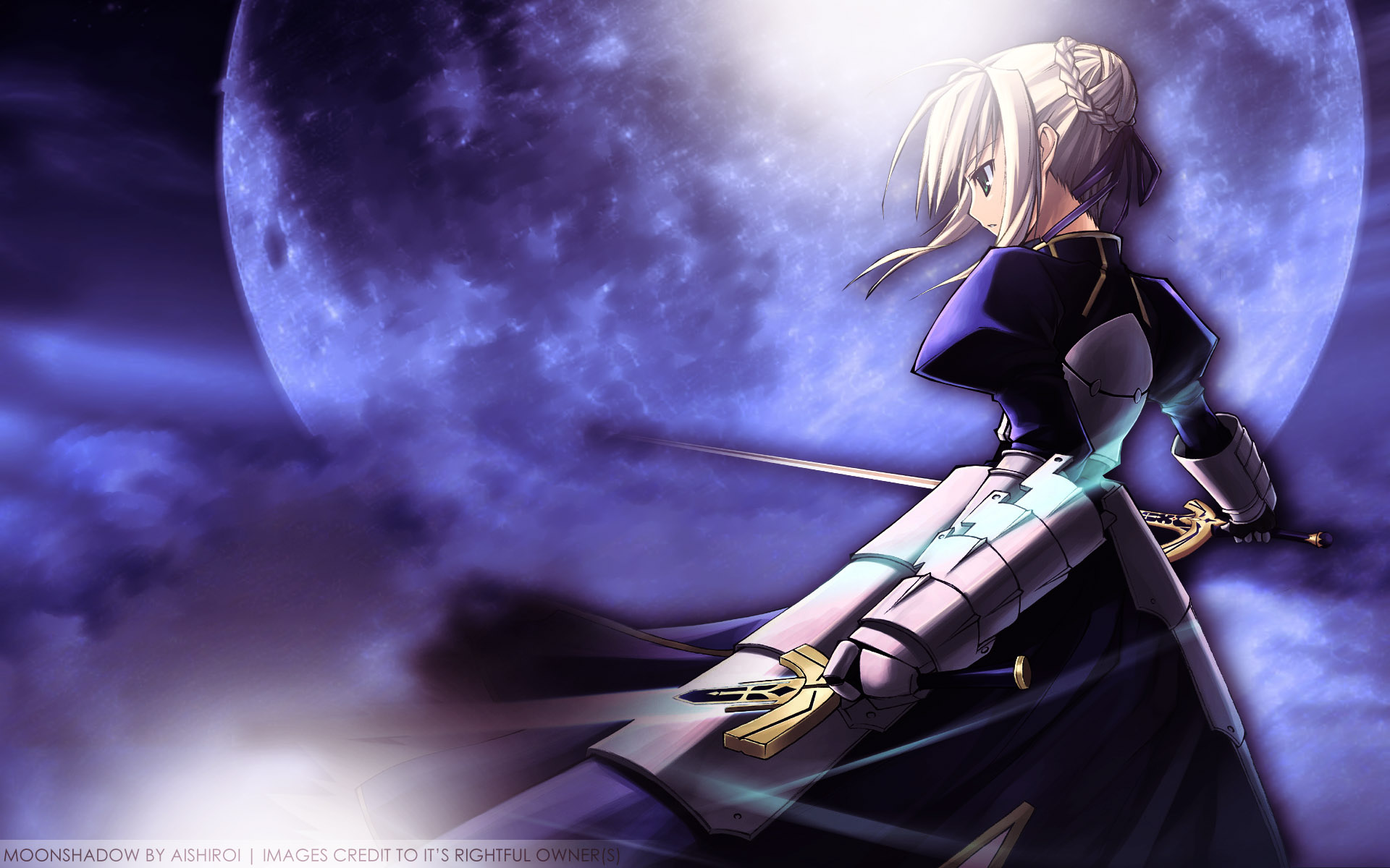 Saber Fate Stay Night Wallpaper 24684720 Fanpop