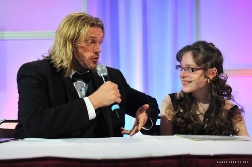 Edge on Conn Smythe Charity Dinner