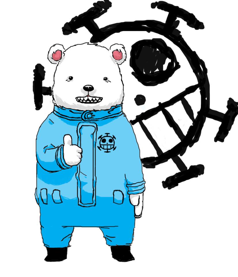 Feeling Blue - Bepo Fan Art (24736232) - Fanpop