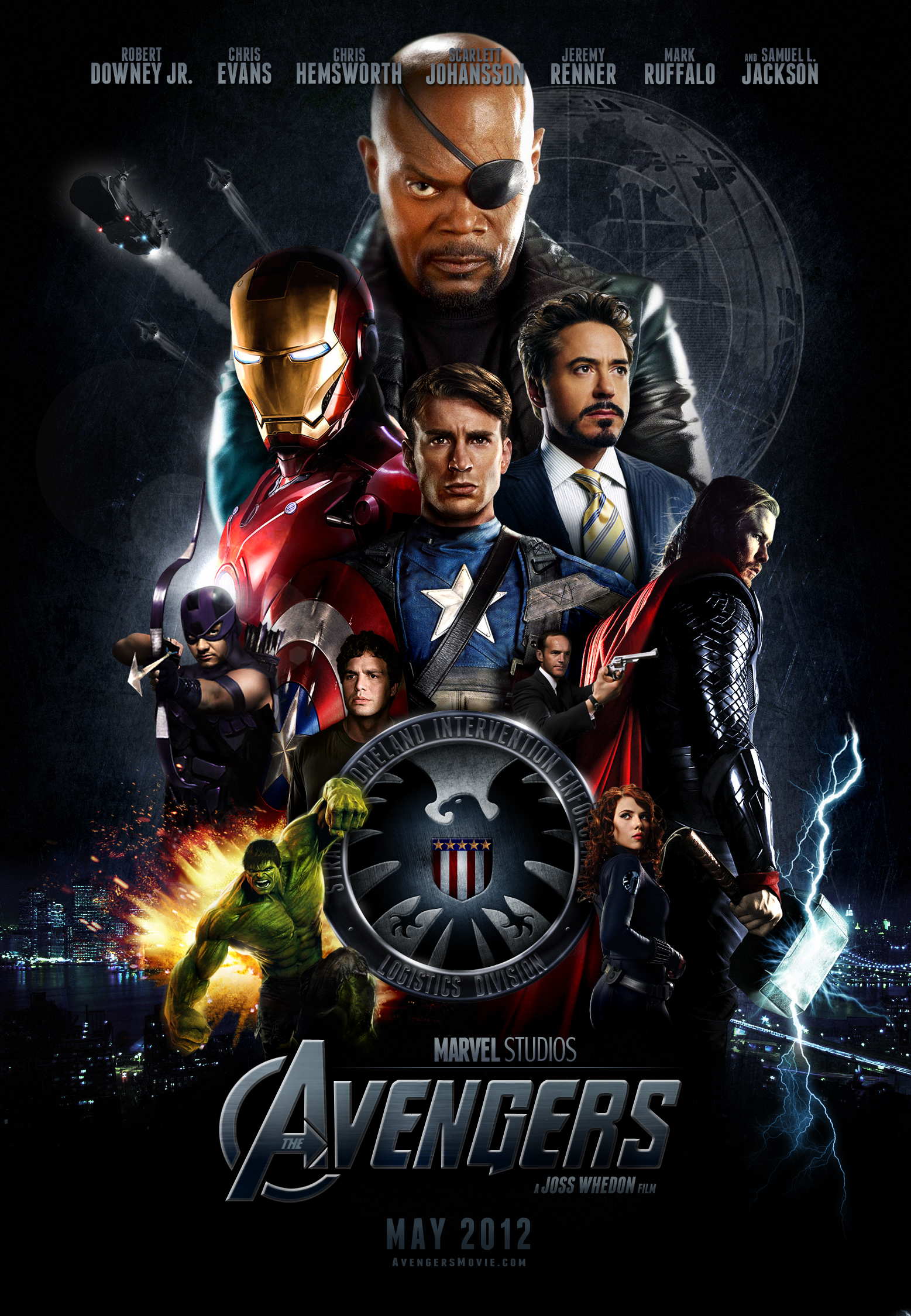 The Avengers 2012 BRRip 720p Dual Audio In Hindi English