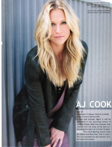 AJ - Fall TV Preview in Zooey Magazine