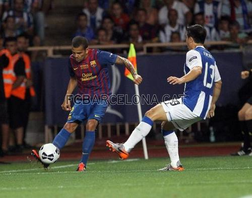 Barcelona vs Porto (UEFA Super Cup) [2-0]