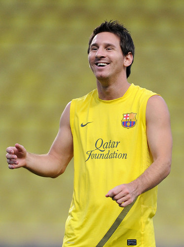 FC Barcelona Training Session (August 25, 2011)